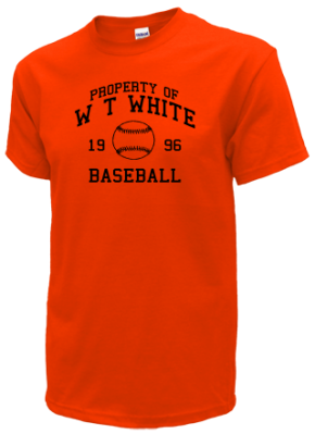W T White High School T-Shirts