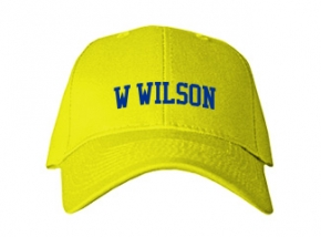 W Wilson Middle School Kid Embroidered Baseball Caps