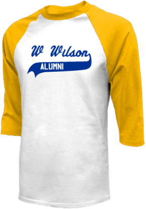 W Wilson Middle School Raglan Shirts