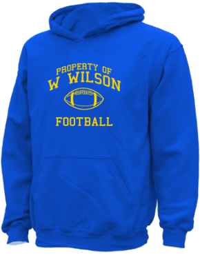 W Wilson Middle School Kid Hooded Sweatshirts