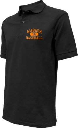Wabash High School Embroidered Polo Shirts