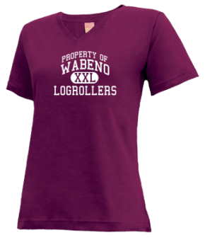 Wabeno High School V-neck Shirts