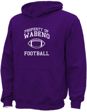 Wabeno High School Kid Hooded Sweatshirts