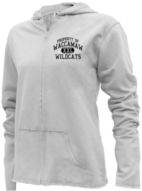 Waccamaw Middle School Girls Zipper Hoodies