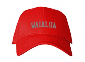 Waialua High School Kid Embroidered Baseball Caps