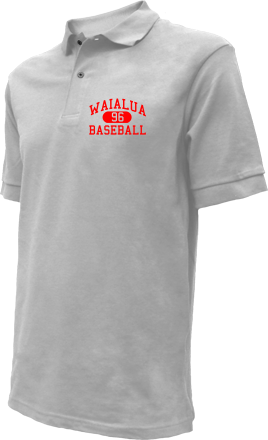 Waialua High School Embroidered Polo Shirts