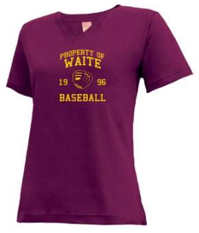 Waite High School V-neck Shirts