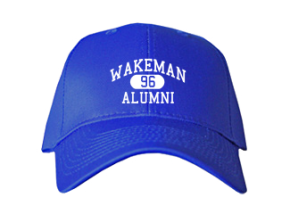 Wakeman Elementary School Embroidered Baseball Caps