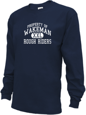 Wakeman Elementary School Kid Long Sleeve Shirts