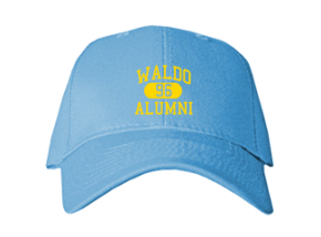 Waldo Elementary School Embroidered Baseball Caps