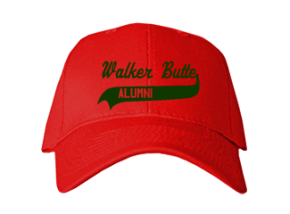 Walker Butte Elementary School Embroidered Baseball Caps