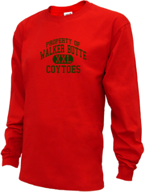 Walker Butte Elementary School Kid Long Sleeve Shirts