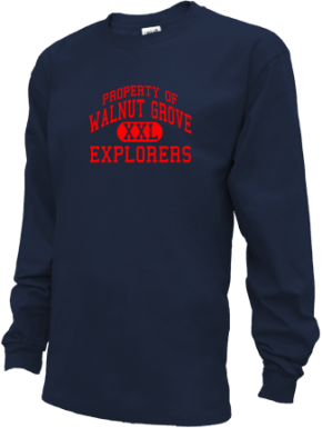 Walnut Grove Elementary School Kid Long Sleeve Shirts