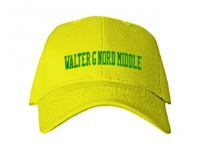 Walter G Nord Middle School Kid Embroidered Baseball Caps
