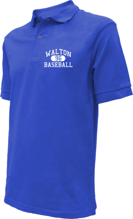 Walton High School Embroidered Polo Shirts