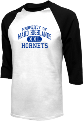 Ward Highlands Elementary School Raglan Shirts