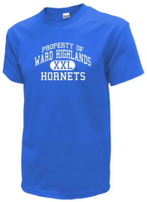 Ward Highlands Elementary School Kid T-Shirts