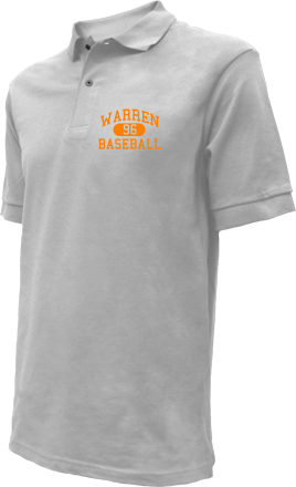 Warren High School Embroidered Polo Shirts