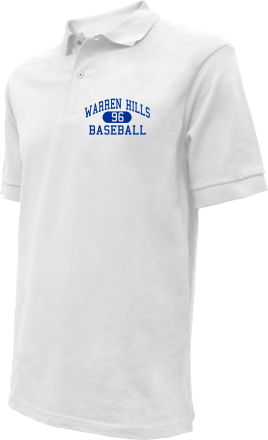 Warren Hills High School Embroidered Polo Shirts