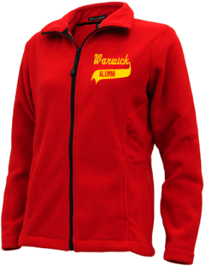 Warwick High School Embroidered Fleece Jackets