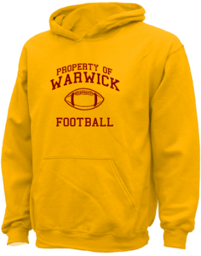 Warwick High School Kid Hooded Sweatshirts