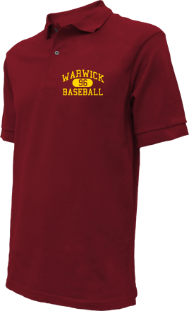 Warwick High School Embroidered Polo Shirts