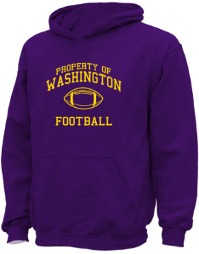 Washington Elementary School Kid Hooded Sweatshirts