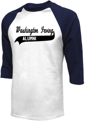Washington Irving Elementary School Raglan Shirts