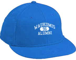Waukomis Middle School Flat Visor Caps
