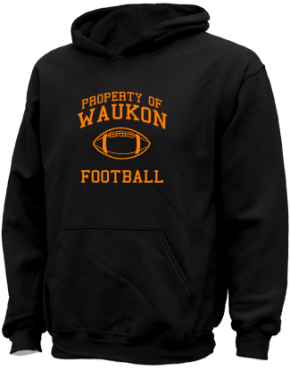 Waukon Junior High School Kid Hooded Sweatshirts