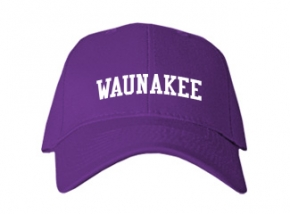 Waunakee High School Kid Embroidered Baseball Caps