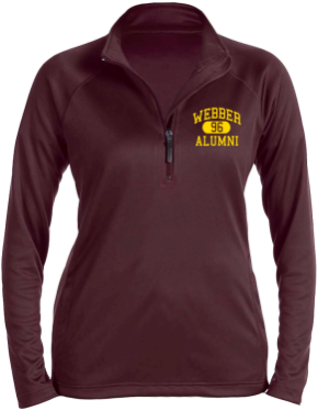 Webber Middle School Stretch Tech-Shell Compass Quarter Zip