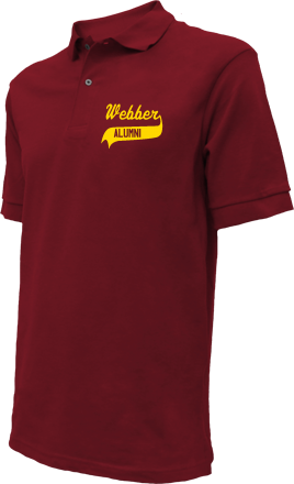 Webber Middle School Embroidered Polo Shirts