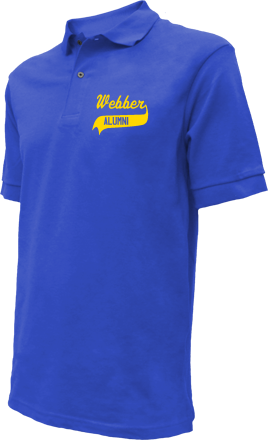 Webber School Embroidered Polo Shirts