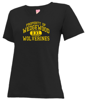 Wedgewood Middle School V-neck Shirts