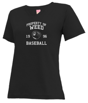 Weed High School V-neck Shirts