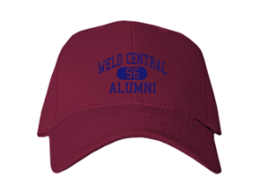 Weld Central High School Embroidered Baseball Caps