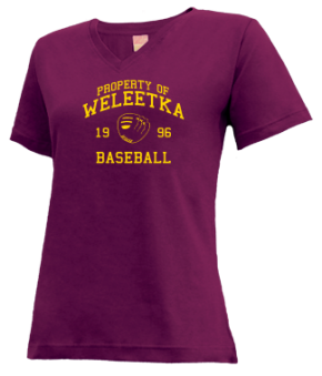 Weleetka High School V-neck Shirts
