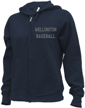 Wellington High School Zip-up Hoodies