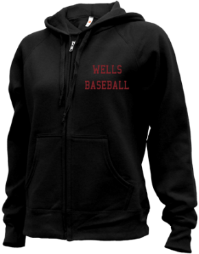 Wells High School Zip-up Hoodies