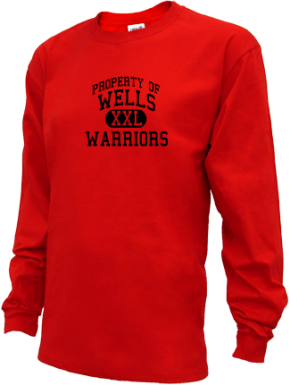 Wells High School Kid Long Sleeve Shirts