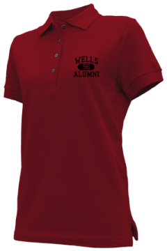 Wells High School Embroidered Polo Shirts