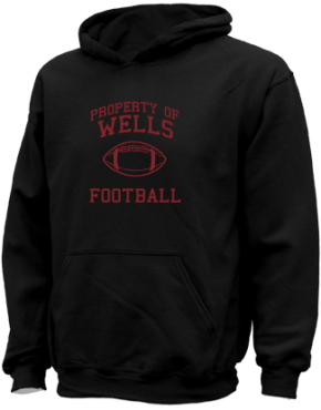 Wells High School Kid Hooded Sweatshirts