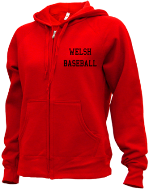 Welsh High School Zip-up Hoodies