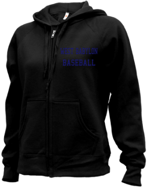West Babylon High School Zip-up Hoodies