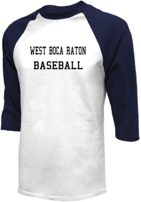 West Boca Raton High School Raglan Shirts