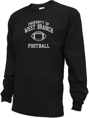 West Branch High School Kid Long Sleeve Shirts