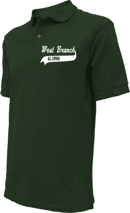 West Branch High School Embroidered Polo Shirts