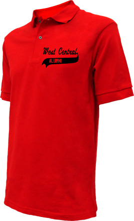 West Central Area South Elementary Embroidered Polo Shirts