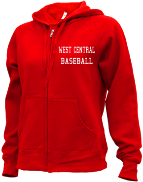 West Central High School Zip-up Hoodies